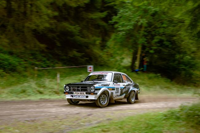 Roger Chilman is taking part in the RAC Rally over the coming days. Picture: Paul Mitchell
