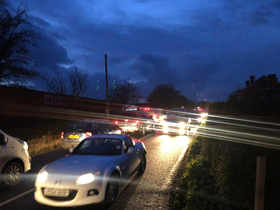 Traffic gridlock in Hereford - Hereford Times