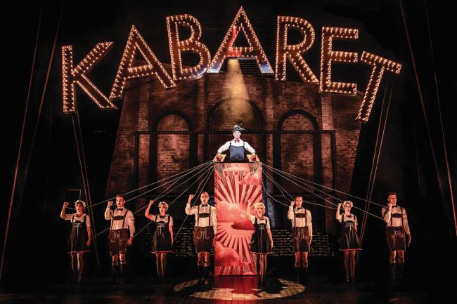 DECADENCE: But Cabaret's a musical with shadows