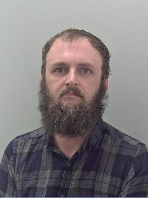 Jailed: Lindon Goodall. Picture: West Mercia Police