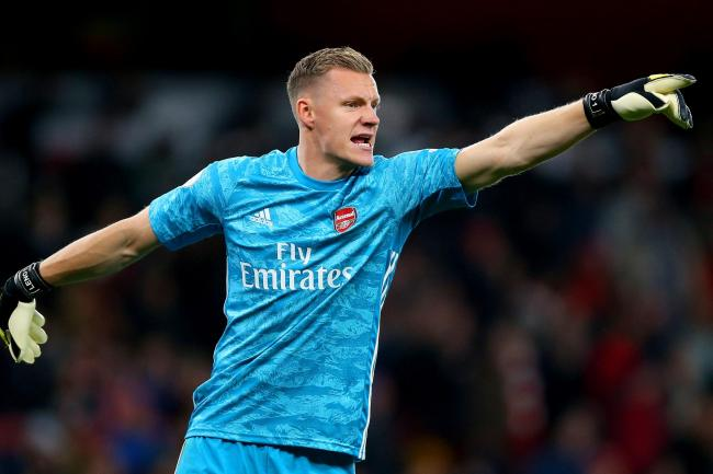 Arsenal's Bernd Leno was the busier of the two goalkeepers at Carrow Road