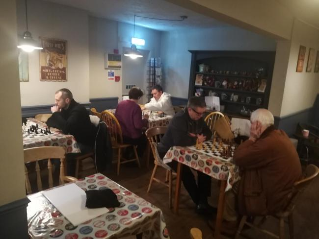 Leominster Chess Club – a recent evening session