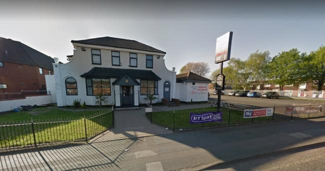 The attack happened outside the pub. Pic: Google