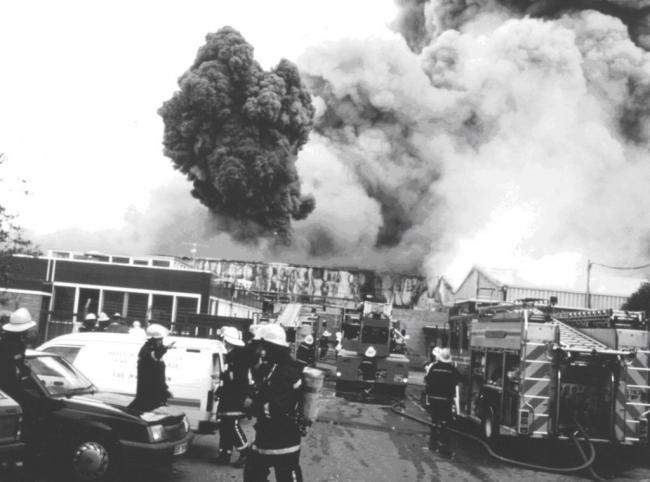 The fire at Hereford's Sun Valley factory was one of the biggest the city has ever seen.
