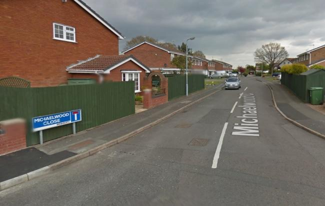 Residents are being urged to remain alert after the burglary