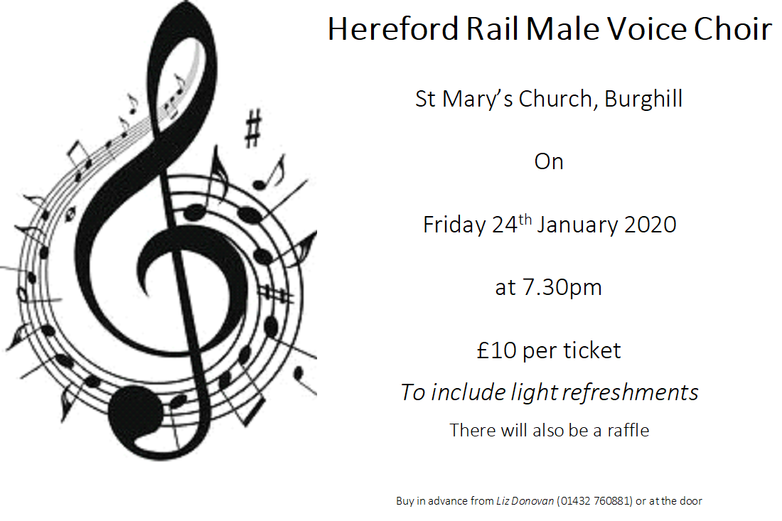 Hereford Rail Male Voice Choir