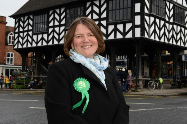 North Herefordshire Green Party candidate Ellie Chowns