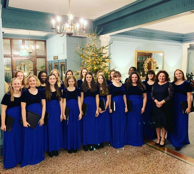 Hereford Cathedral School's Cantabile Girls Choir