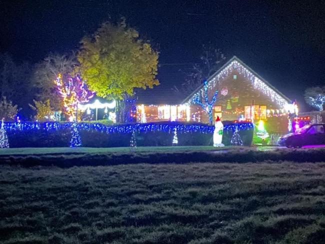 Mark Richards charity light display