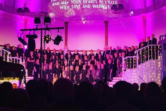 Choral Diversity raised more than £5,000 in their fundraising concert. Photo: Dominic Dickson