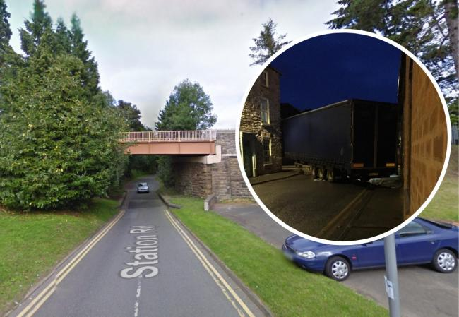 There will be roadworks for two months on Station Road in Bromyard as the road is prepared to become an approved HGV route. Pictures: Google/Lucy Aldridge