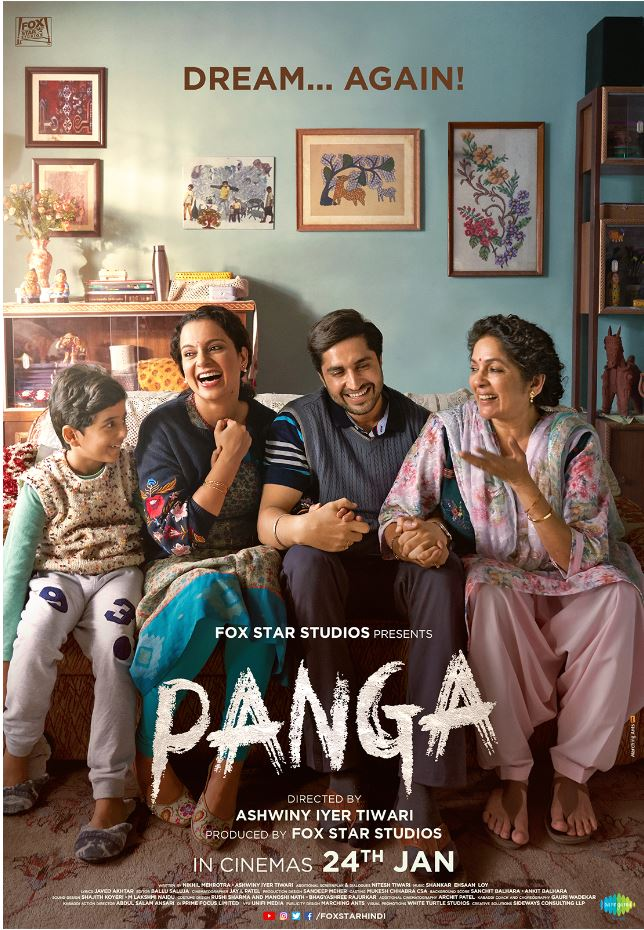 NEW FILM PANGA DARES TO DREAM BIG IN AN EMOTIONAL ROLLERCOASTER