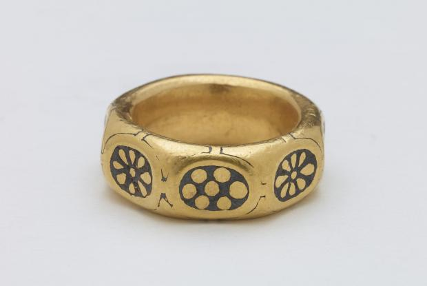 Hereford Times: A ring from the Leominster Hoard