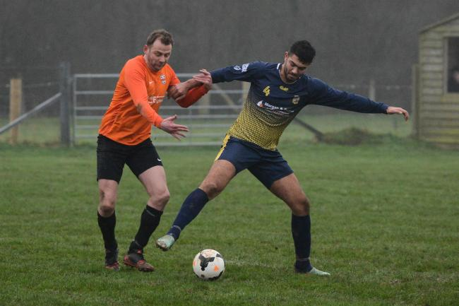 Holme Lacy v Ewyas Harold. Picture: James Maggs