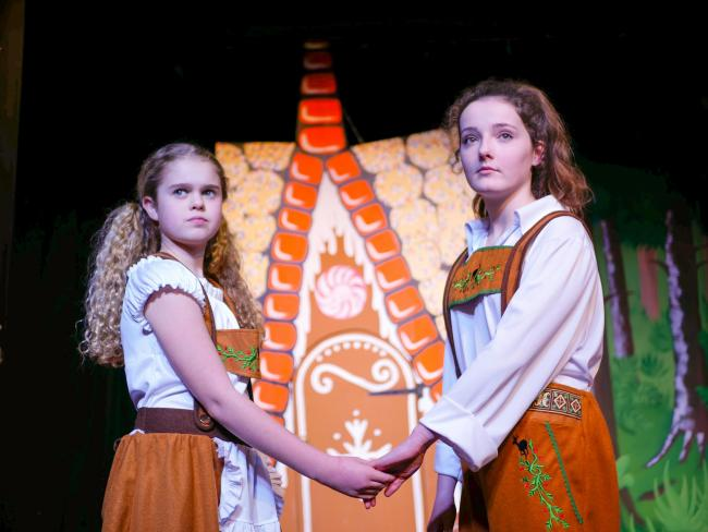 PANTO: With Hansel - Lucy Tyrel  and Gretel - Maisie Quinn