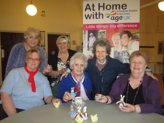 Members of the Tulip Tree Friendship group are appealing for Creme Eggs