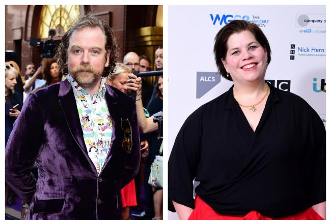 Rufus Hound and Katy Brand