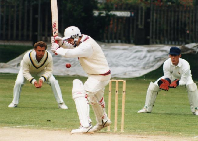 Former Herefordshire County Cricket Club Captain Richard Skyrme