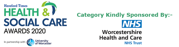 Hereford Times: Hereford Times' Health & Social Care Awards 2020 - The Mental Health Award kindly sponsored by Worcestershire Health and Care NHS Trust
