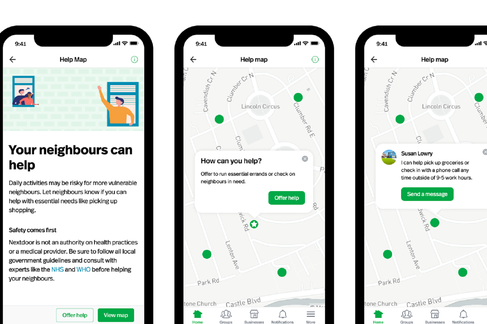 Nextdoor launches Help Map in UK for neighbourhood support - Hereford Times