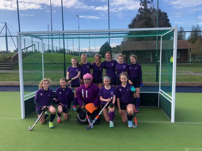 Herefordshire Girls hockey squad