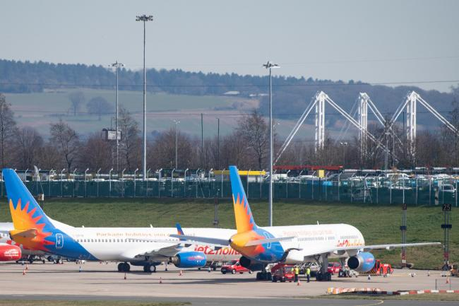 A temporary mortuary for 12,000 bodies could be set up at Birmingham Airport