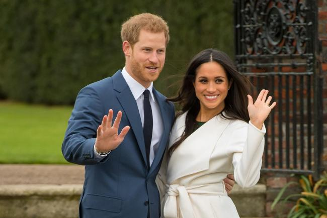 Meghan Markle was sent on a two-day course at the SAS headquarters in Hereford after her engagement to Prince Harry. Picture:Dominic Lipinski/PA Wire.
