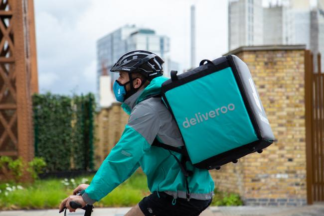 Here's how you can donate to the NHS when using Deliveroo. Picture: Deliveroo