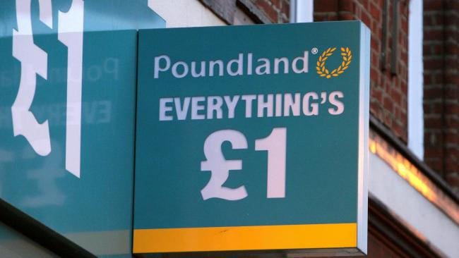 Poundland reopening:  Dozens of stores will return to the high street later this month. Picture: PA Wire