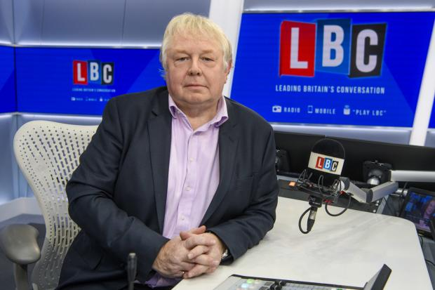 Hereford Times: Radio: Nick Ferrari presents the breakfast show on nationwide talk radio station LBC. Picture: Global/LBC