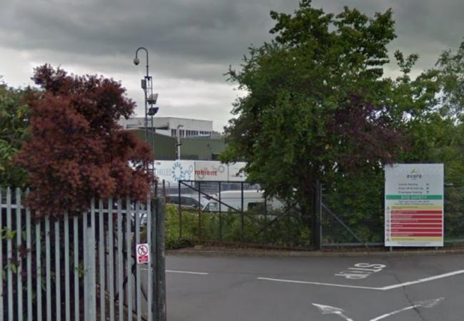 Hereford fire crews on scene at high voltage electrical fire. Photo: Google Maps