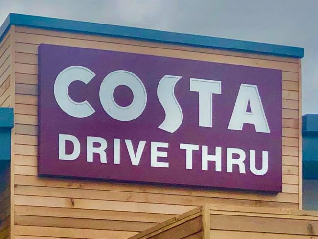 Costa Coffee reveal when all drive-thru's will reopen. Picture: Newsquest