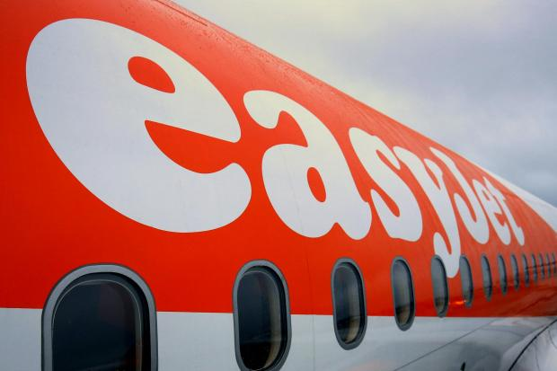 Hereford Times: EasyJet plane