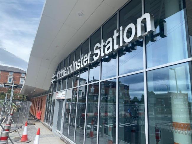 The brand new Kidderminster Railway Station building will open to the public this weekend