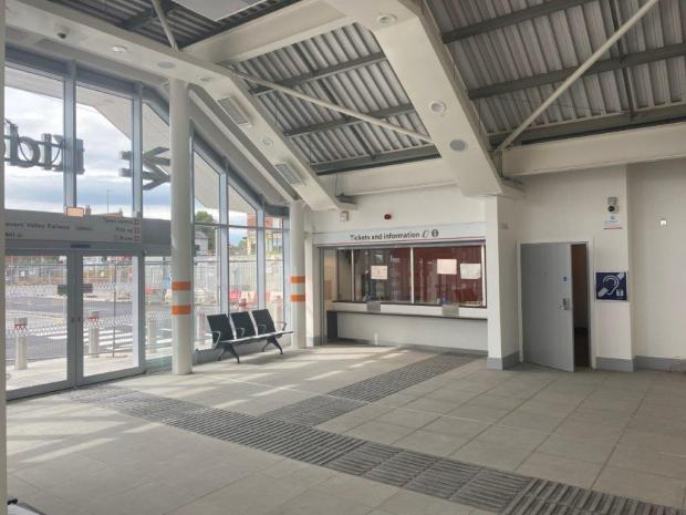 Hereford Times: The brand new Kidderminster Railway Station building will open to the public this weekend