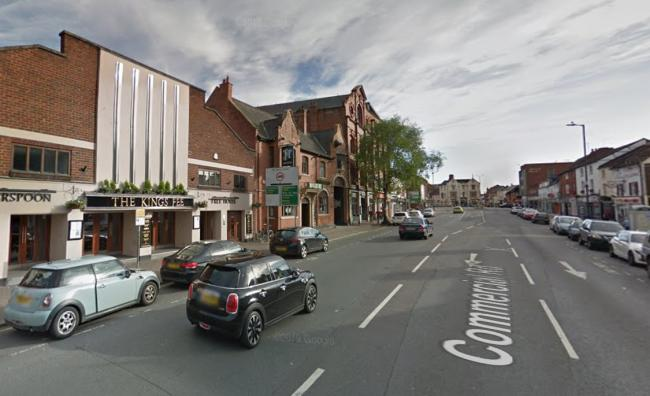 Police were called to Commercial Road. Photo: Google Maps