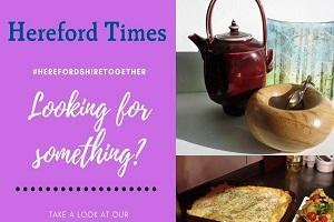 Join the Hereford Times in backing local business. Browse though our online directory #HerefordshireTogether