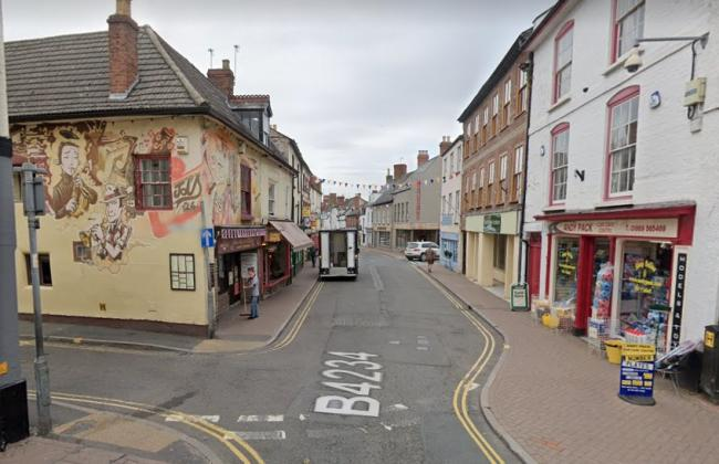 Broad Street, Ross-on-Wye. Photo: Google Maps
