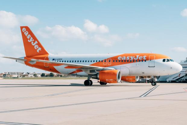 Easyjet to resume package holidays from August 1. Picture: EasyJet