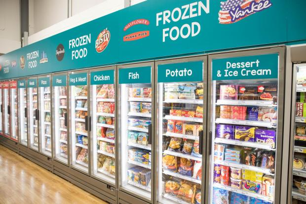 Hereford Times: Poundland is to embark on a major revamp of their stores across the UK, which includes adding a frozen and chilled foods section in a number of branches. Picture: Poundland/PA
