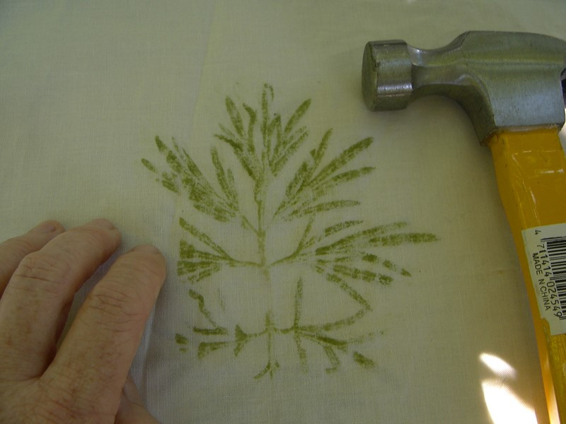 Paper Making and Leaf Hammering