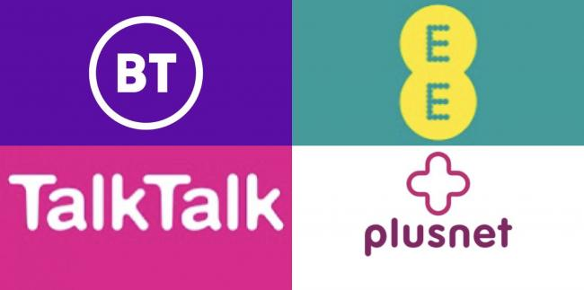 BT, EE, Plusnet and TalkTalk reporting major outages with internet and  phone services   Hereford Times