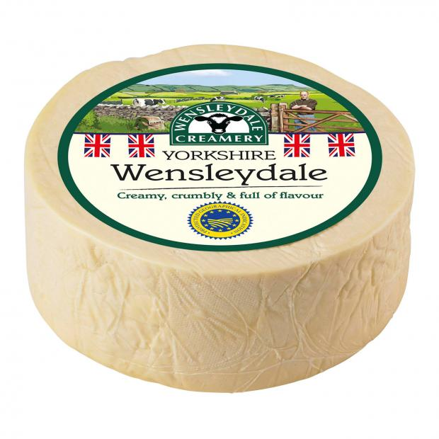 Hereford Times: Wensleydale cheese. Picture credit: Wensleydale Creamery