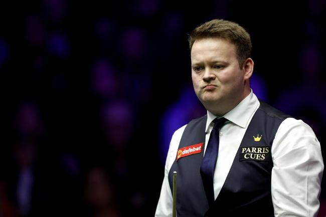 Shaun Murphy crashed out of this year's World Championship