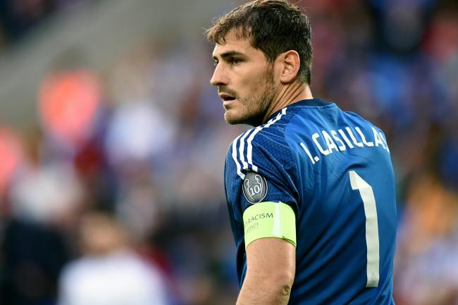 Former Real Madrid goalkeeper Iker Casillas has hung up his gloves