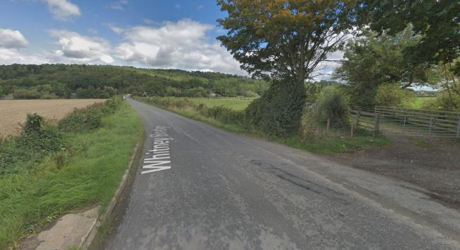Police are appealing for information after a fatal crash on the B4350 near Whitney-on-Wye. Picture: Google
