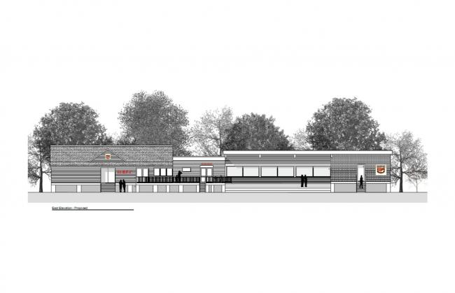 Hereford Rfc clubhouse plans. Picture credit: Avarchitecture/Hereford RFC