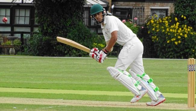 Mahaaz Ahmed hit 51 for Herefordshire. Picture: KATH WOOD