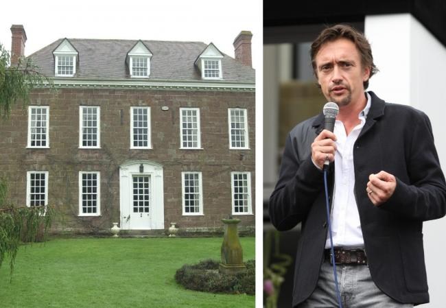 Richard Hammond has submitted plans to Herefordshire Council for a new stable block and storage building at his Herefordshire castle
