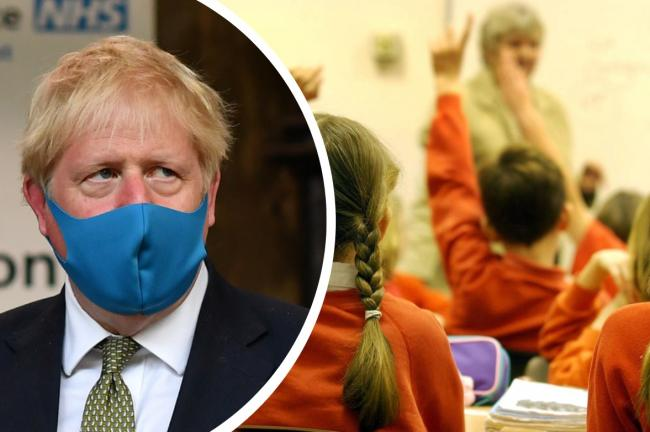 Face coverings in schools: Pupils in England WILL have to wear masks - Boris Johnson says. Pictures: PA Wire/Newsquest